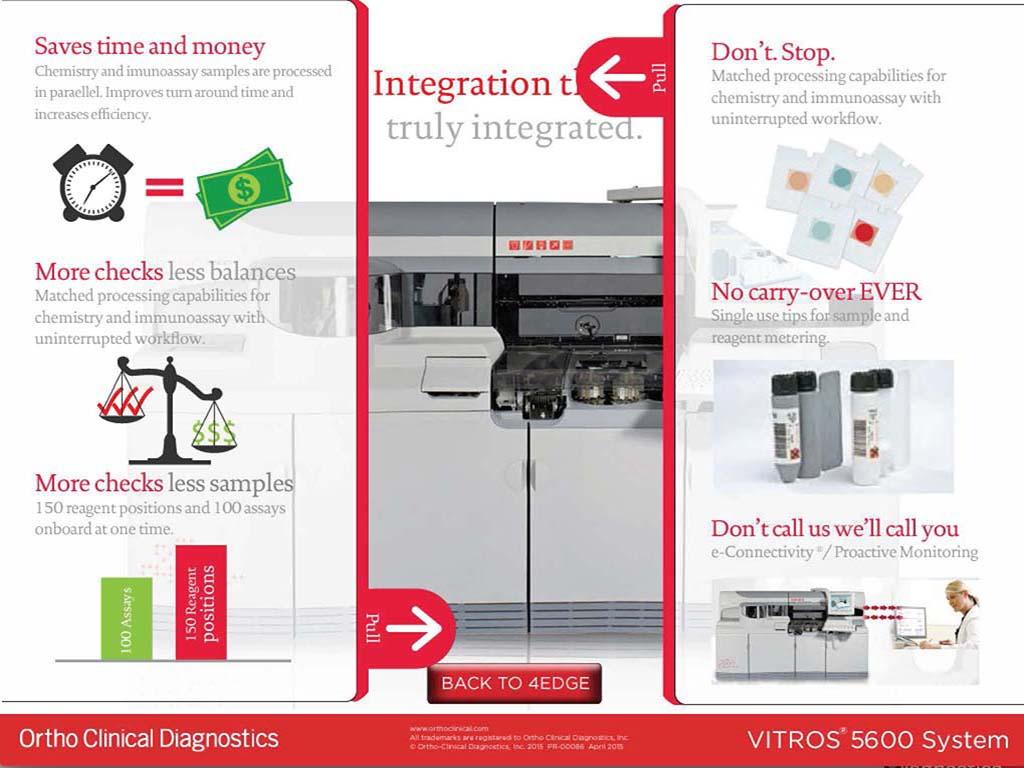 VITROS® 5600 App – IT Designs LLC